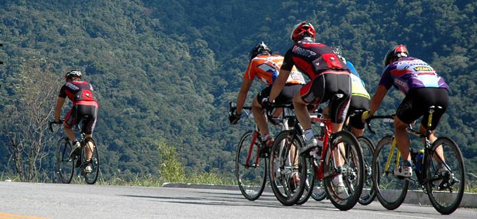 RJ-116 tem prova de ciclismo com participação de 50 atletas