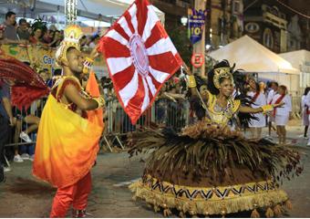IMPERATRIZ DE OLARIA tenta o tricampeonato do Carnaval