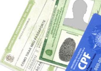 RG, CPF e título de eleitor serão emitidos em documento único