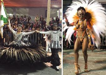 Friburgo: Vilage brilha no desfile com Carnaval de Cinema