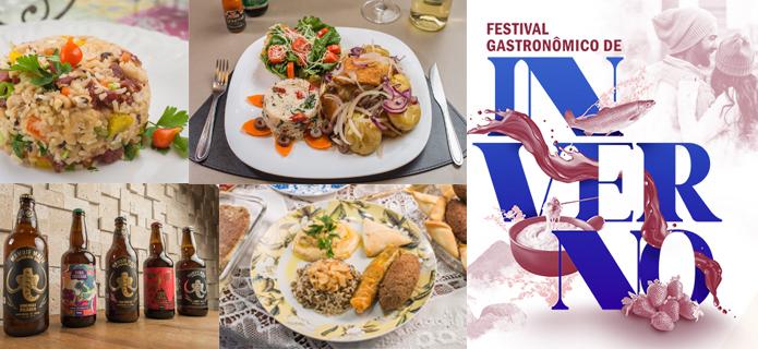 Pratos especiais – e deliciosos – são atrações no Festival Gastronômico
