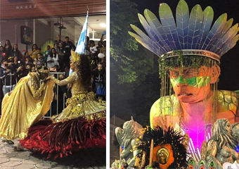Friburgo: Alunão mostrou a Estrada Real no Carnaval