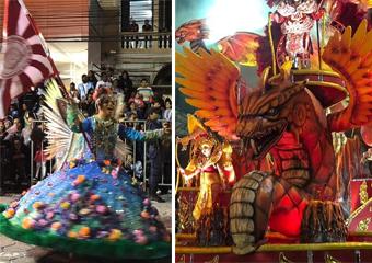 Friburgo: Imperatriz cheia de energias positivas no Carnaval